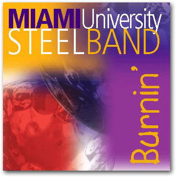 Miami University Steelband Music CD cover