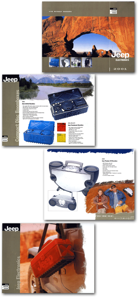 20 page 11 x 8 1/2 catalog for Jeep